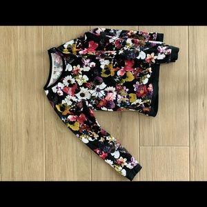 Target Floral Sweatshirt
